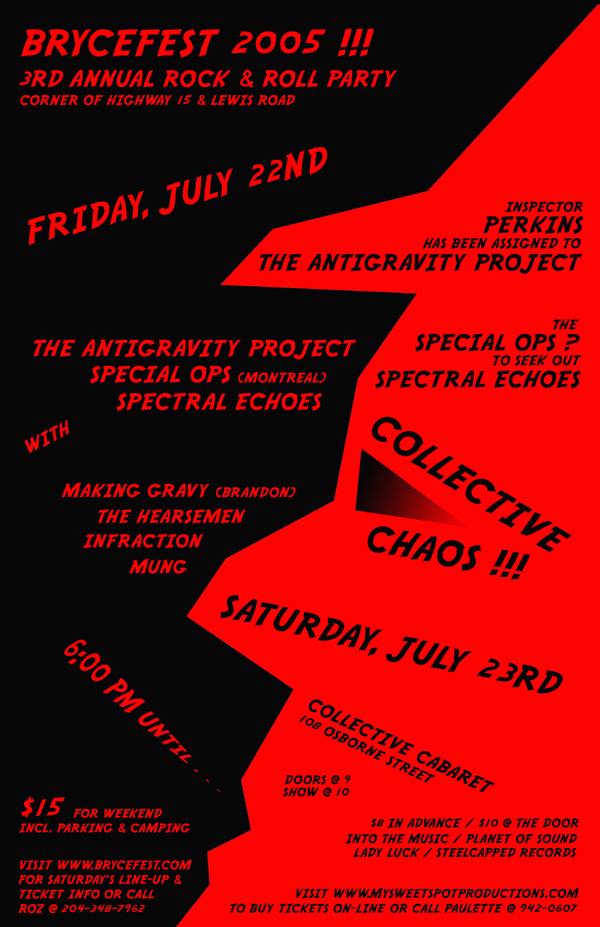 Bryce Fest and Collective Chaos show